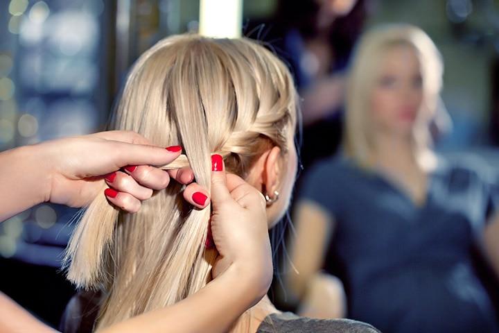 Haircuts For Teenage Girls - Braided One-Sided Headband Hair Style