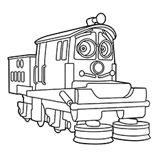 top 10 chuggington coloring pages for your little one