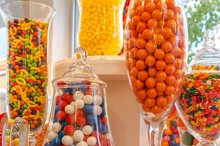 Baby Shower Ideas - Candy Gifts