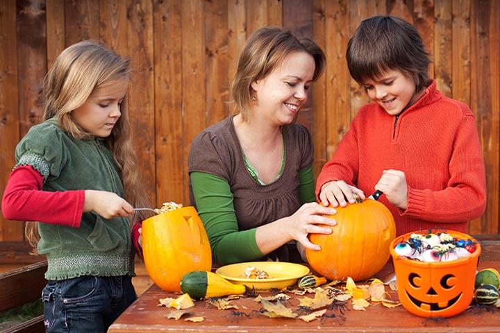 Pumpkin Crafts - Carving Pumpkins