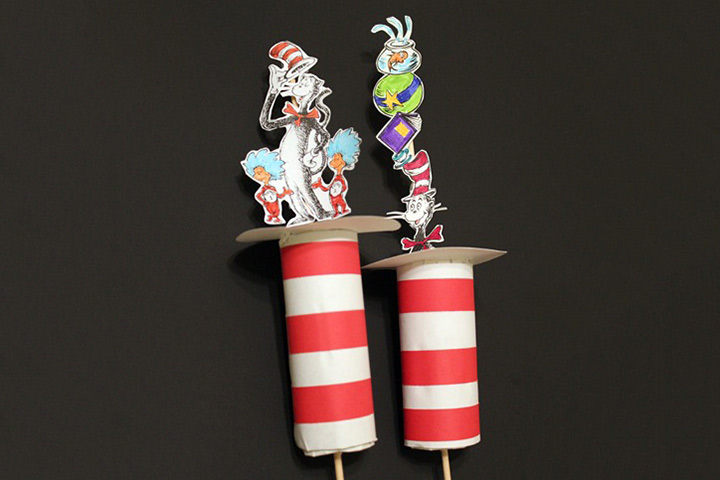 Dr. Seuss Activities - Cat In The Hat Rollups