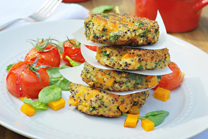Healthy Snacks For Teens - Cheese And Vegetable Pikelet