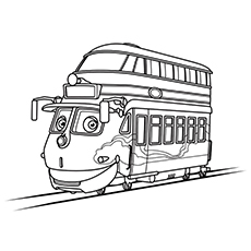 top 10 chuggington coloring pages for your little one - Chuggington Wilson Coloring Pages