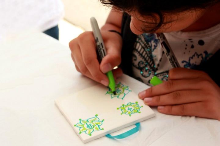 Ramadan Crafts - Decorative Tile