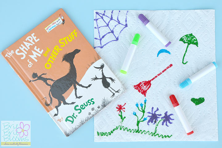 Dr. Seuss Activities - Dr. Seuss Shape Recognition Activity