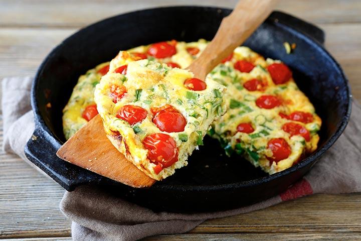 Egg And Tomato Frittata