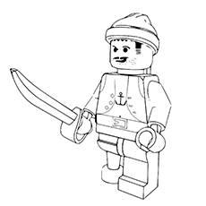 Lego Movie Emmet In A Disguise To Color