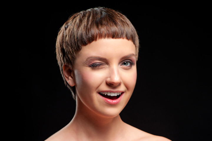 Haircuts For Teenage Girls - Extra Short Bowl Haircut
