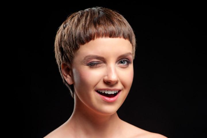 Haircuts For Teenage Girls - Extra Short Bowl Haircut