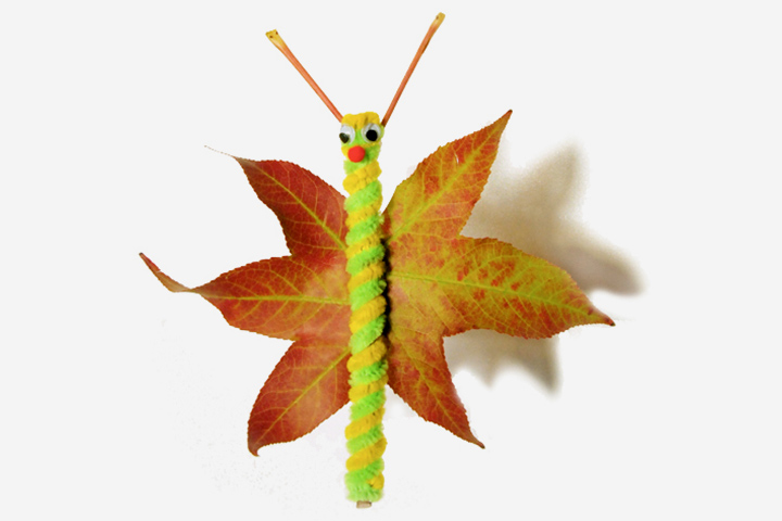 Leaf activities - Fall a Leaf Butterfly