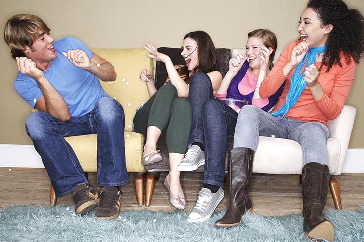 new years eve games for teens - Four On The Couch