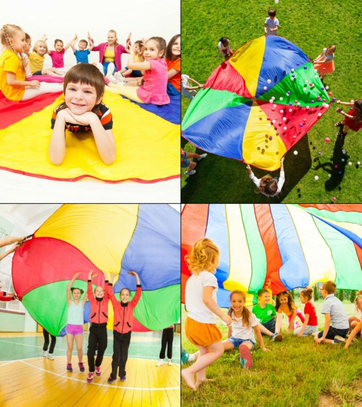 Parachute Games And Activities For Children