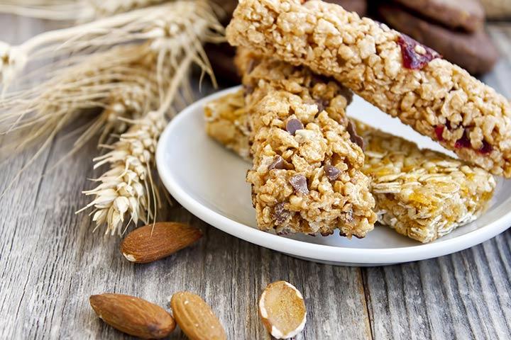 Healthy Snacks For Teens - Granola Bars