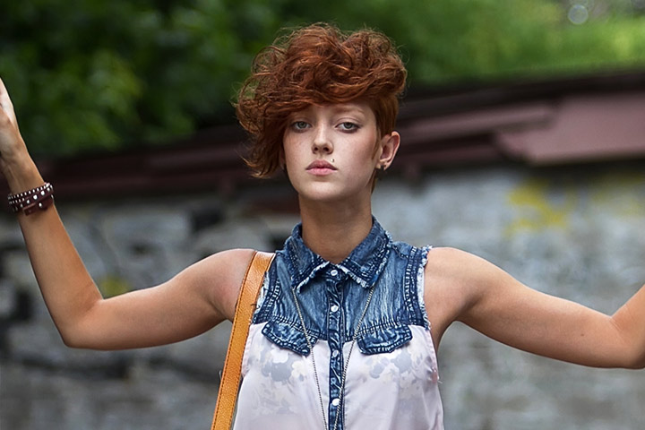 Image Gallery hipster short hair