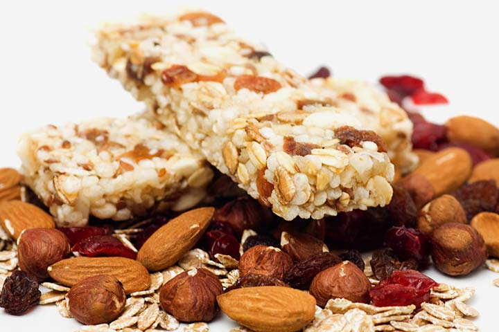 Snack Recipes For Kids - Homemade Granola Bar