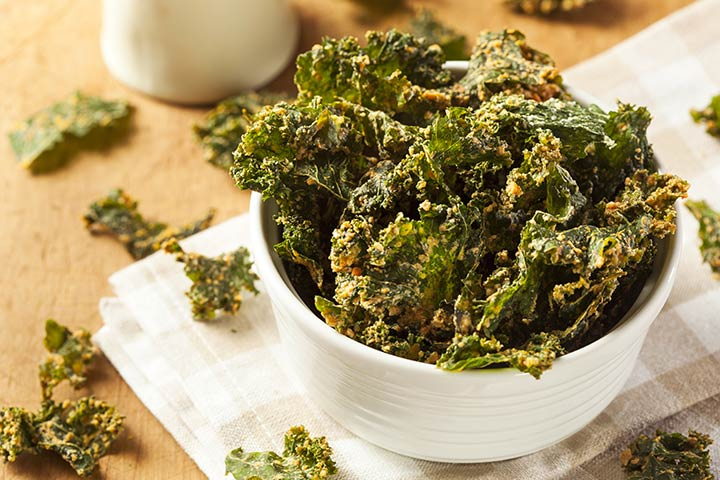Healthy Snacks For Teens - Kale Chips