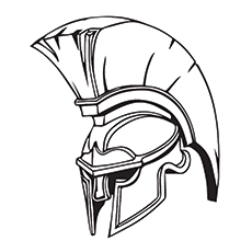 Knight's Helmet Image to Color