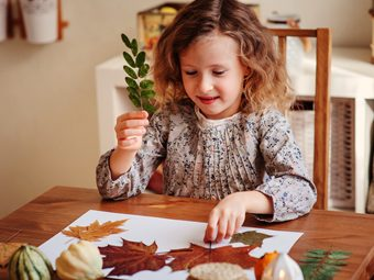 10 Beautiful Leaf Crafts And Activities For Kids