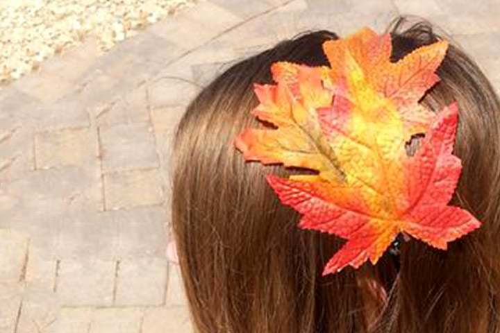 Leaf activities - Leaf Headband