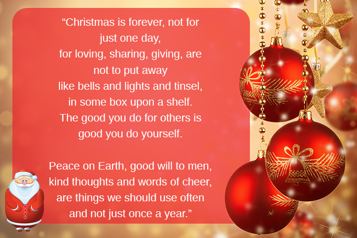 Let Everyday Be Christmas