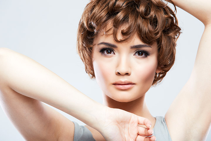Short Hairstyles For Teens - Loose Wavy Curls With Short Hair