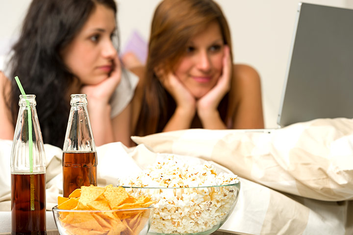Things for teens to do at night - Movie Marathon
