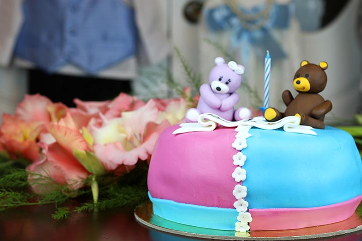 Baby Shower Ideas - Name Selection Cake