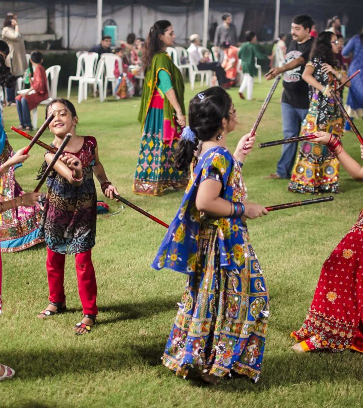 navratri for kids - Story And Crafts Pictures