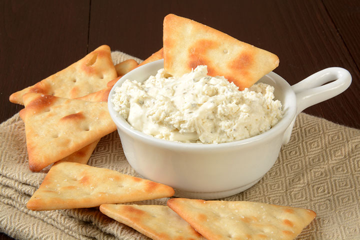 Snack Recipes For Kids - Parmesan And Pita Crisps