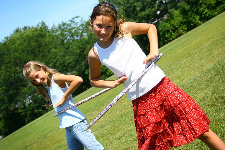 Team Building Exercises For Teens - Pass The Hula Hoop