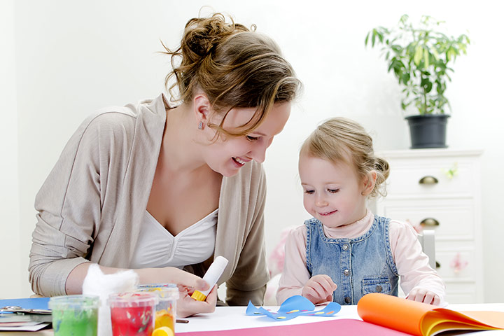 Thanksgiving Crafts For Toddlers - Pilgrim Doorknob Hangers