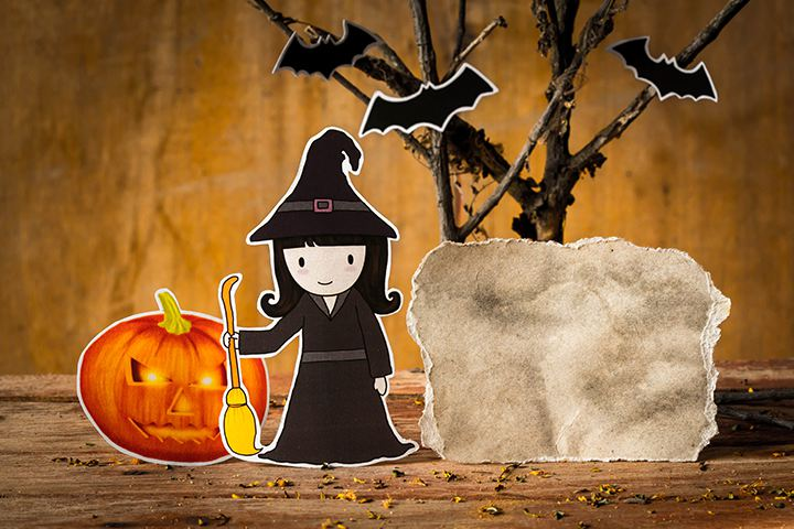 Halloween Games For Toddlers - Pin The Wart On The Witch