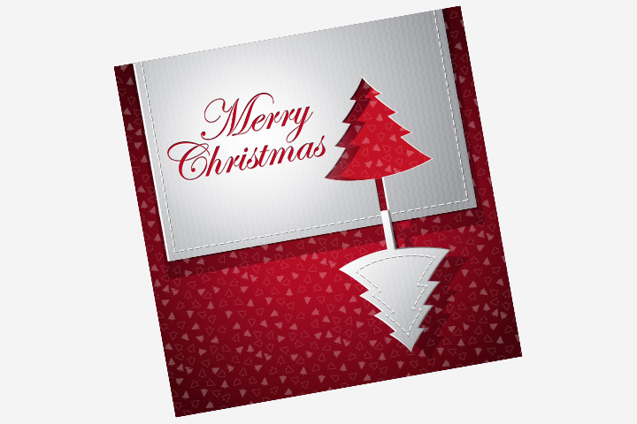 Amazing Making Christmas Cards Ideas Part - 6: Christmas Card Ideas For Kids - Pop Out Christmas Tree Card