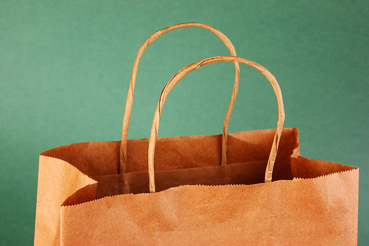 Baby Shower Ideas - Re-Used Paper Bags And Re-Usable Design Ideas