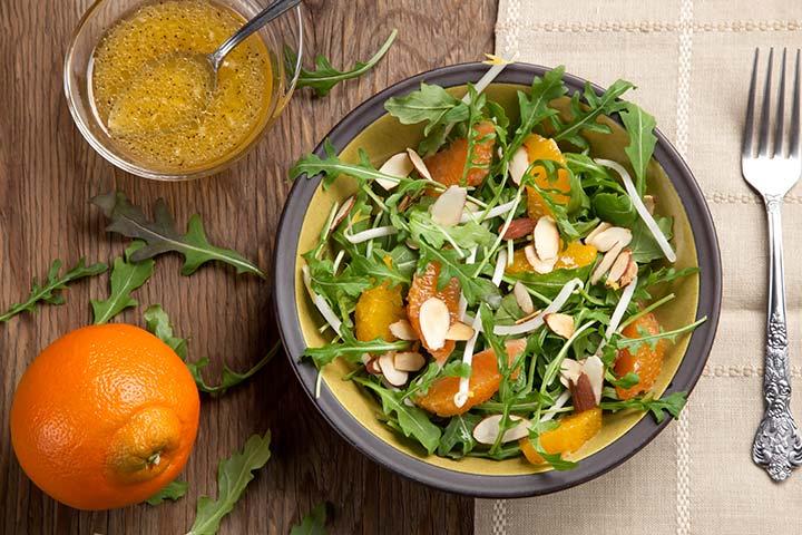 Salad with Citrus Vinaigrette