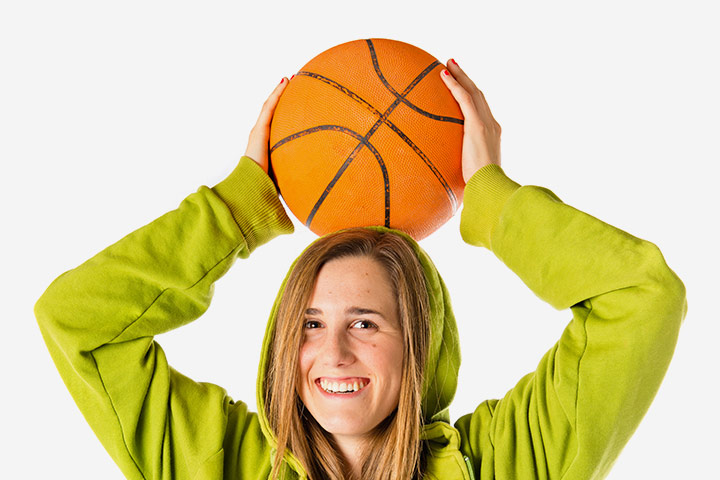 Team Building Exercises For Teens - Seated Basketball