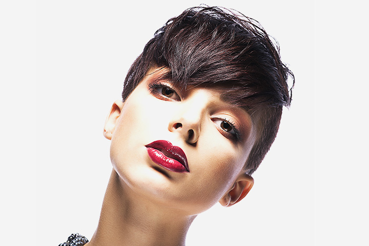 Haircuts For Teenage Girls - Short And Simple Androgynous Cut