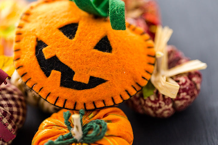 Thanksgiving Crafts For Toddlers - Stuffed Pumpkin Craft