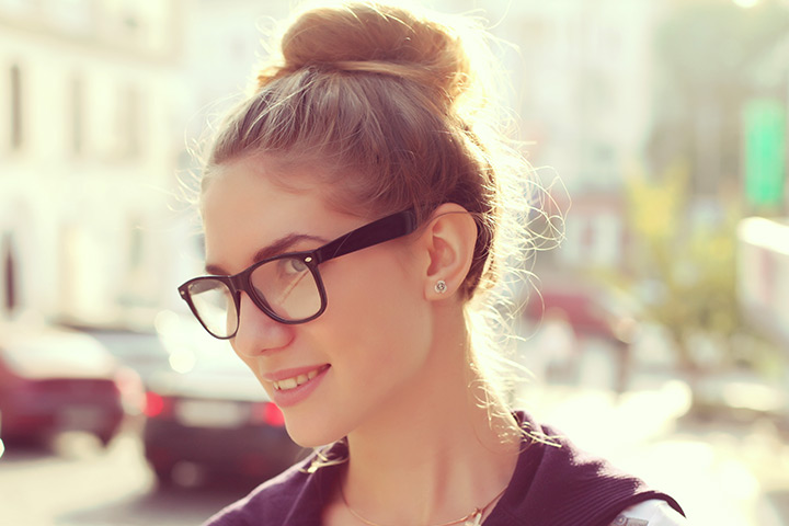 Haircuts For Teenage Girls - The Cool Top Knot Hair Style