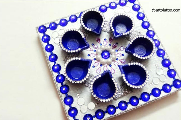 Top 10 diwali greeting cards and gifts for kids diwali platter solutioingenieria Image collections
