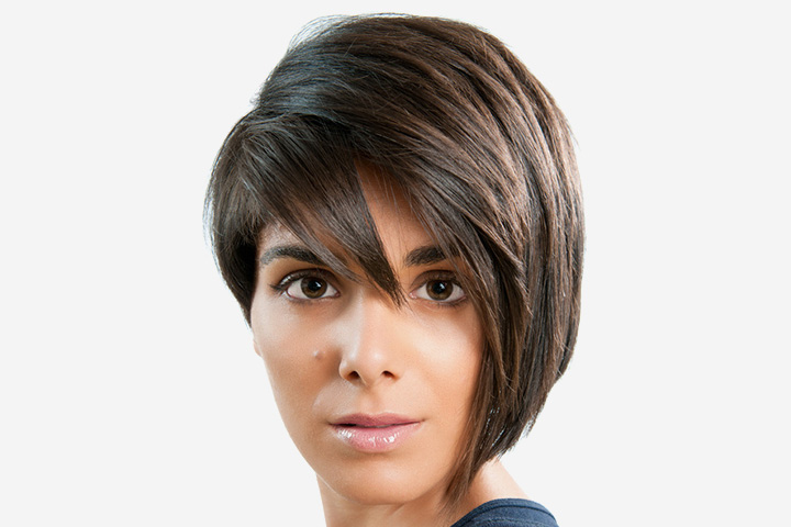 Haircuts For Teenage Girls - The Short And Long Asymmetric Hair Style