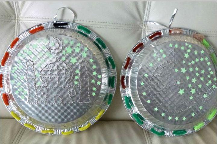 Ramadan Crafts - Tin Punch Lantern