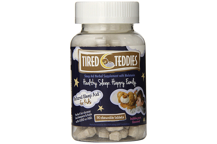 Tired Teddies Natural Sleep Aid for Kids