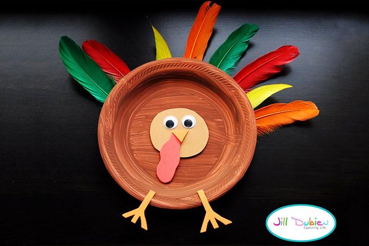 Thanksgiving Crafts For Kids - Turkey Hat