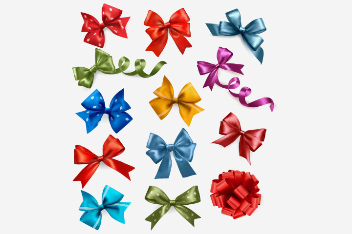 Baby Shower Ideas - Using Interesting Ribbons
