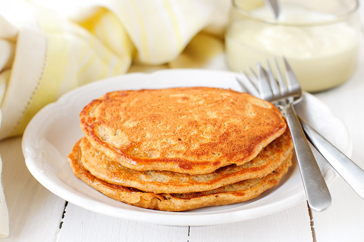 Healthy Snacks For Teens - Whole Grain Pancakes