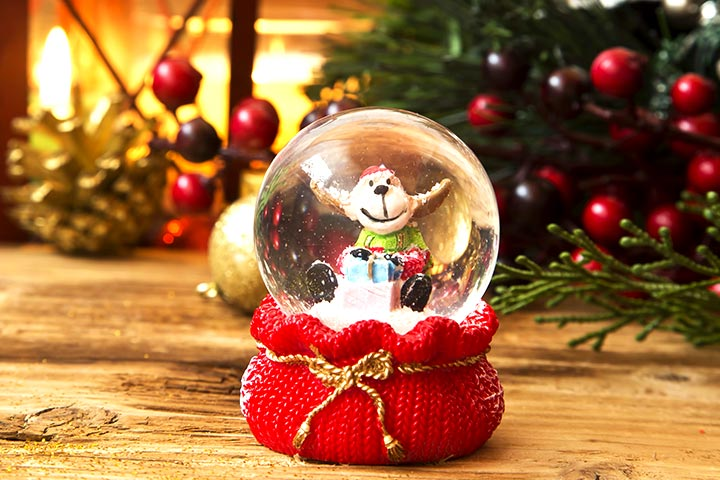 Christmas Craft Ideas For Kids - Winter Wonderland Snow Globe