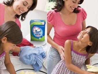 'Working The Magic' While Doing Laundry #JustLikeMom