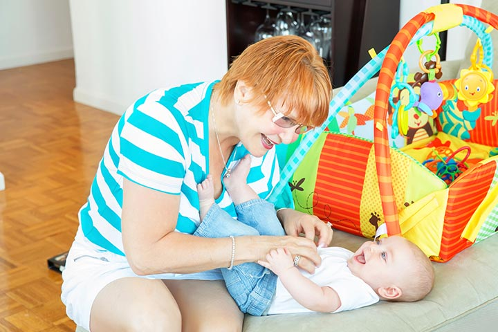 Baby Development Month By Month - 4th Month Development