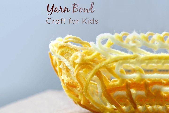 3D Art For Kids - Yarn Bowl